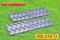 GENUINE Milenco Extra Wide Grip Mats Caravan Motorhome Size: 75 x 25cm (2752)