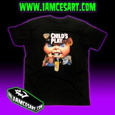 Child's Play Men's DTG Tee 100% Cotton chucky doll horror movie 90s iamcesart
