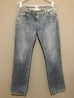 SASS & BIDE Classic Blue Jeans Size 31 Ladies 12 Straight Leg Mid Rise Winter