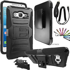 For Samsung Galaxy Grand Prime G530 Hybrid Rugged Holster Case Cover S