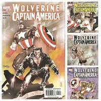 °WOLVERINE / CAPTAIN AMERICA #1 bis #4° US Marvel 2004 Marvel Team Up