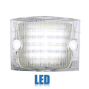 56 1956 Chevy Car Clear White LED Back Up Reverse Light Lamp Lens Chevrolet