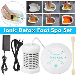 Personal Ionic Detox Foot Bath Spa Cleanse Machine Array Health Care No Basin