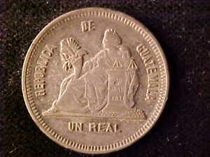 GUATEMALA ONE REAL 1893