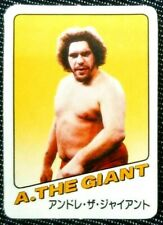 TAKARA Wrestling Game Card 1982 Andre the Giant