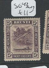 BRUNEI  (PP2101B) 25C SG 43   MOG