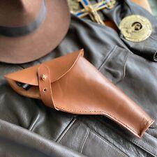 Indiana Jones Leather Holster fits Webley MKVI
