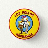 Chapa Pin Badge Button HEISENBERG, LOS POLLOS HERMANOS
