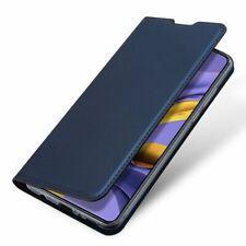 XIAOMI REDMI NOTE 9S  Handy Tasche Schutz Hülle DUX DUCIS LEDER Book Case BLAU P