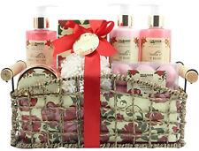 Damen Beauty Geschenkset Pfingstrosen Vanille 14-tlg Badeset Körperpflege Set
