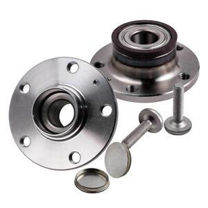 2x Rear Wheel Bearing HUB Kit For Audi Q3 VW GOLF MK VI Skoda Superb 1T0598611B