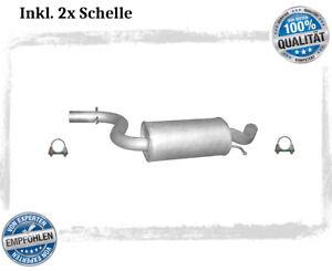 Mittelschalldämpfer für VW Golf V 5 / Audi A3 1.4 TSI 2.0 FSI Auspuff Schelle