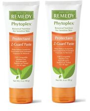 2 Medline Remedy Phytoplex Z-Guard Skin Protectant Paste, 4 OZ