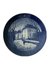 Royal Copenhagen Denmark 7� Christmas Plate 1975 The Queen's Christmas Residence
