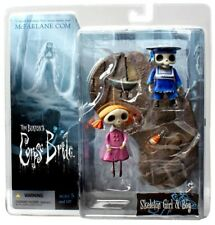 McFarlane Toys Corpse Bride Series 2 Skeleton Boy & Girl Action Figure 2-Pack