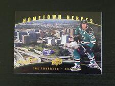 2007-08 Upper Deck UD Hometown Heroes HH82 Joe Thornton San Jose Sharks