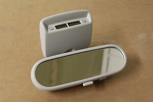 Interior rear view mirror with clock VW Beetle 2002 - 05 1C0857511AA New genuine