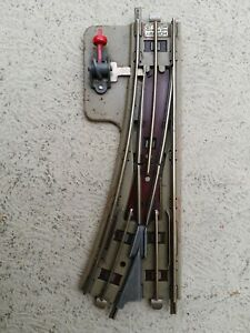 Hornby dublo 3 rail EDPR non isolating switch point X1  right