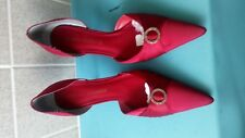 Micheal Shannon Imelina Women Red  High Heel Shoes Size UK 6