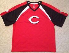 Stitched Cincinnati Reds Mlb Baseball Sports Jersey Shirt Adult Xl