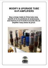 Modifying & Upgrading Valve (Tube) Amplifiers with EL34 300B 2A3 6L6