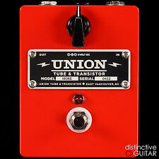 BRAND NEW UNION TUBE & TRANSISTOR MORE EFFECTS PEDAL - CLEAN PREAMP GAIN BOOST