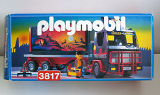 Playmobil 3817 Sunset Express Semi Container Truck !!