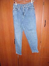 NY & Company Blue Jeans Easy Size 8 Petite 8P 100% Cotton W 27 I 28 R 11.5