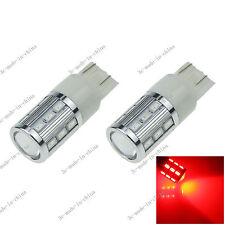 2X Red T20 7443 7440 18 5630 1 Cree Q5 LED car Blub Turn Sig Light 12V G028