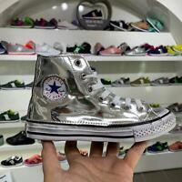 Converse All Star Specchiate Argento Lucido Galaxy [Prodotto ...