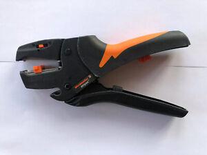 Weidmüller Abisolierzange Stripax bis 10mm2 Neu, nur zur Ansicht getestet.