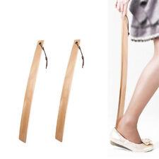 Long Shoehorn Tool Wooden Shoe Horn Handled Shoehorn For Seniors Pregnancy H