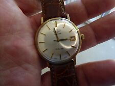 BEAUTIFUL 9 CARAT GOLD ROTARY AUTOMATIC GENTS 25 JEWELS WRISTWATCH - WORKING