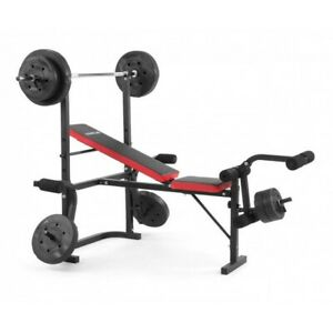 Powertrain Multi Home Gym Bench Press With Weights