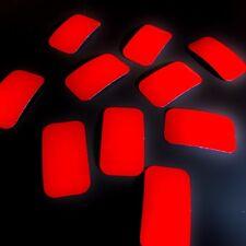 10 x Rot Reflexfolie Reflexband Reflex Band Folie Reflektor Sicherheitsaufkleber