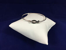James Avery RETIRED Ichthus Hook On Bracelet Size Medium 2 1/4""