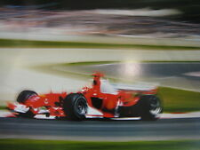 Poster Marlboro Ferrari F2004 2004 #1 Michael Schumacher (GER) Speed extra dik