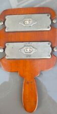 More details for decrette whist counter, french mahogany. circa 1910. very rare.