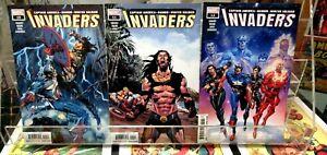 INVADERS #10 #11 #12 Marvel Comics CAPTAIN AMERICA Winter Soldier NAMOR 2019