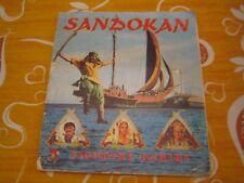 ALBUM DI FIGURINE SANDOKAN - EDIZIONI PANINI (275/400)