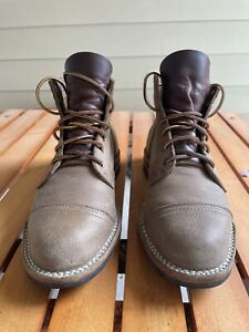 Truman Boots 9.5D Gaucho Moose - Stitchdown