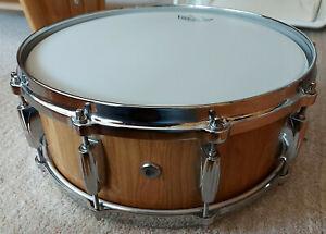 "Schoenberger Snare Drum, Gladiator 14""x5,5"" faßbauweise, Kirsche, top Zustand"