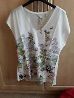 New Ted Baker Vest Tee Top Size Uk 10