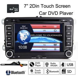 "For VolksWagen VW EOS 7"" 2Din Radio Stereo Multimedia Car DVD GPS Navi Player"