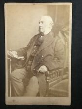 Victorian Photo: Cabinet Card: Bassano: Well Dressed Gent: Copyrighted