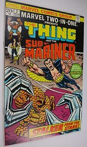 MARVEL TWO IN ONE (THING)  #2  9.0/9.2   SUB-MARINER
