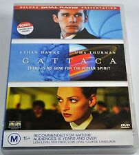 Gattaca Deluxe Dual Ratio Presentation Dvd Region 4 Pal Dvd (Non Us)