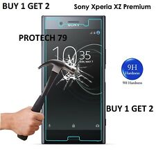 Tempered Glass Screen Protector Film Guard Protection for Sony Xperia XZ Premium