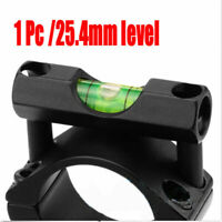 Tactical Airsoft / Airgun Scope Spirit Level Bubble for 25.4mm / Mounts Bolt on