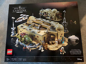 Lego Star Wars 75290 Mos Eisley Cantina Set (Used & Complete)